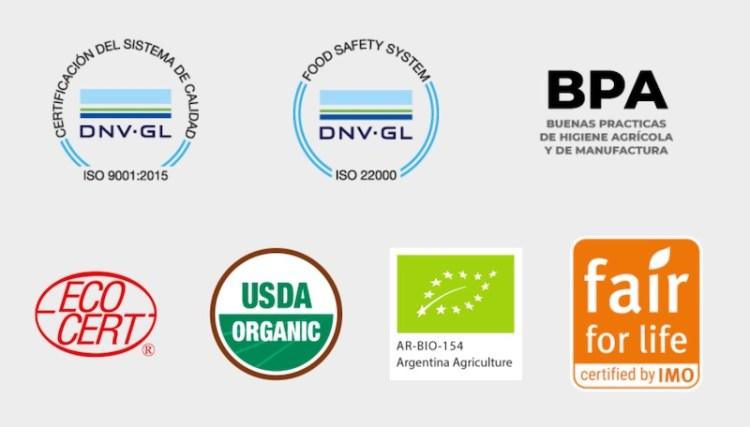 Domaine Bousquet certifications photo