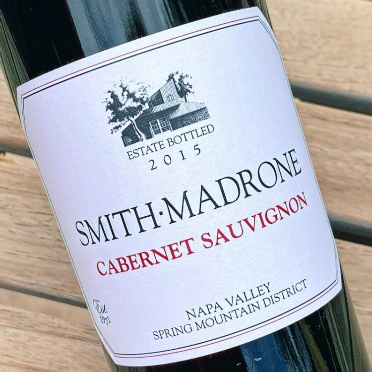 2015 Smith-Madrone Cabernet Sauvignon, Spring Mountain District, Napa Valley photo