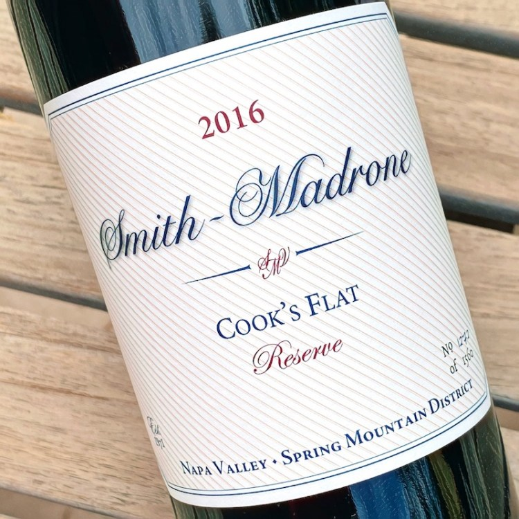 2016 Smith-Madrone Cook's Flat Reserve, Spring Mountain District, Napa Valley photo