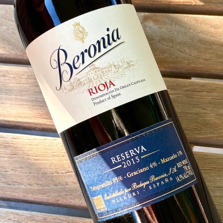 2015 Beronia Reserva, Rioja photo