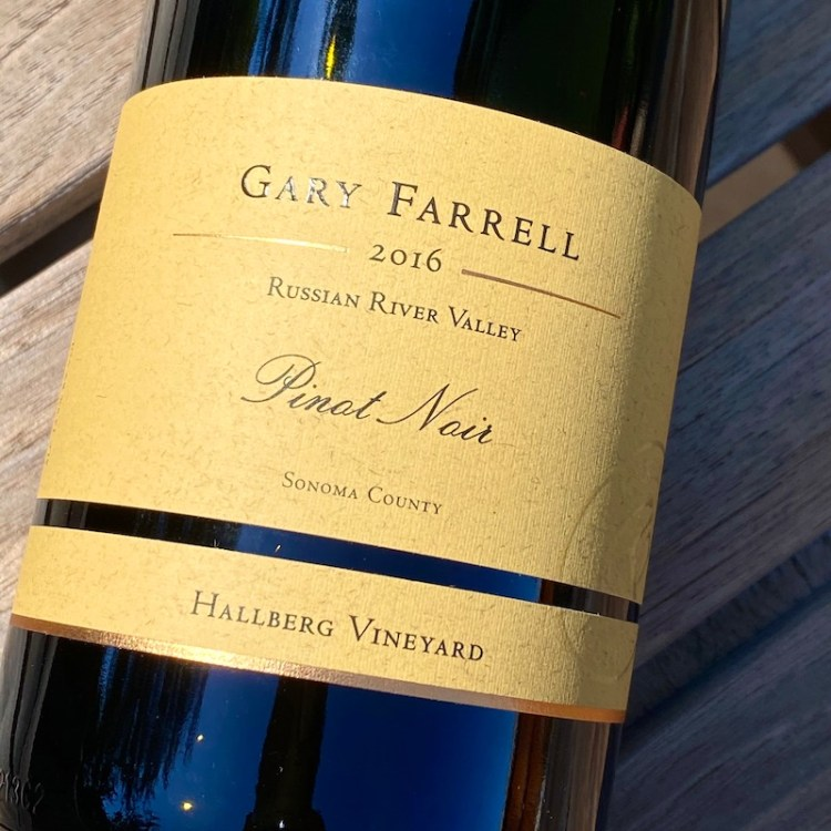 2016 Gary Farrell Hallberg Vineyard Pinot Noir, Russian River Valley photo