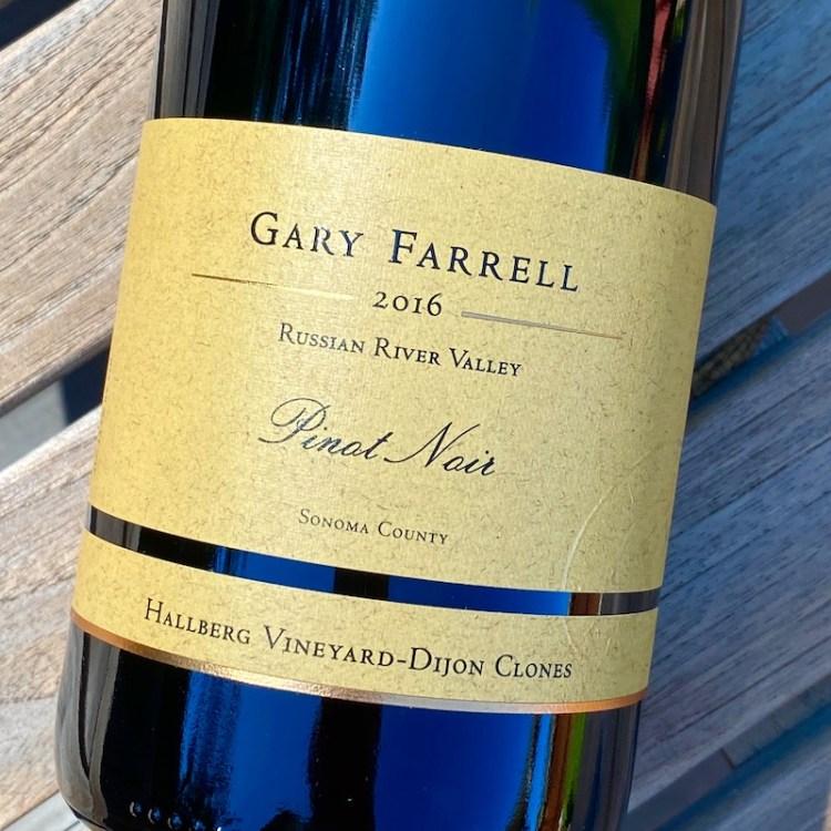 2016 Gary Farrell Hallberg Vineyard-Dijon Clones Pinot Noir, Russian River Valley photo