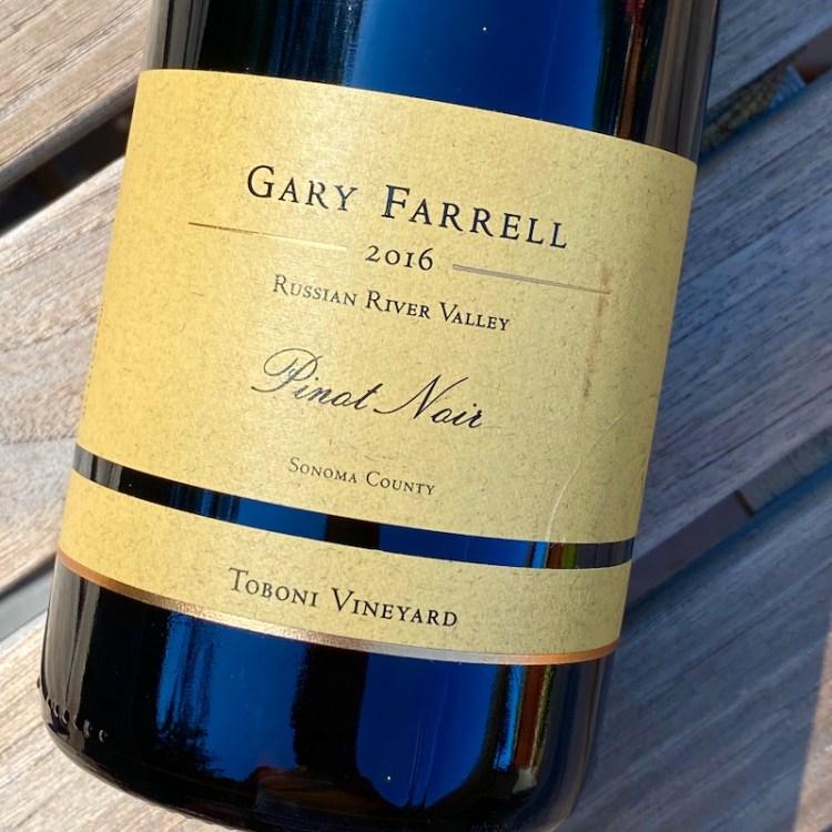2016 Gary Farrell Toboni Vineyard Pinot Noir, Russian River Valley photo