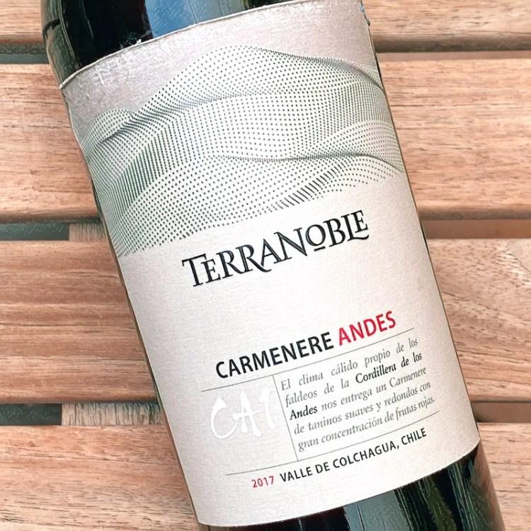 2017 TerraNoble CA1 Andes Carmenere, Valle de Colchagua photo