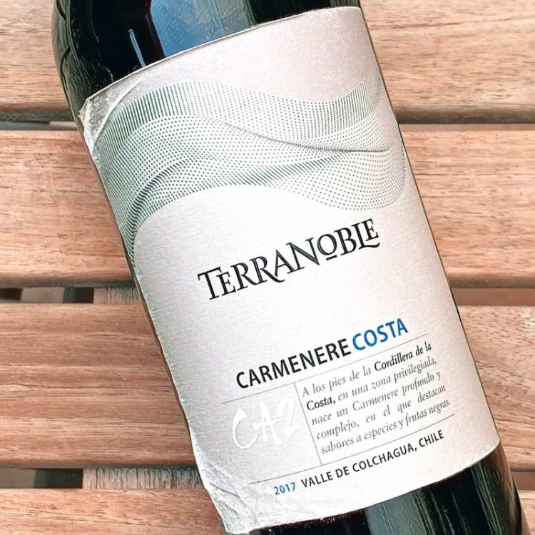 2017 TerraNoble CA2 Costa Carmenere, Valle de Colchagua photo