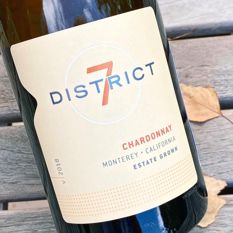 2018 District 7 Chardonnay, Monterey, California photo