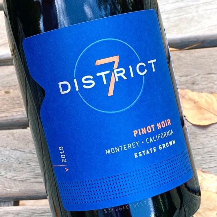2018 District 7 Pinot Noir, Monterey, California photo