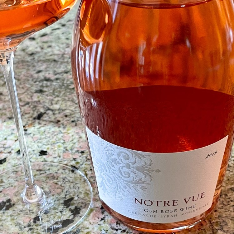 2019 Notre Vue GSM Rosé, Chalk Hill, Sonoma County photo