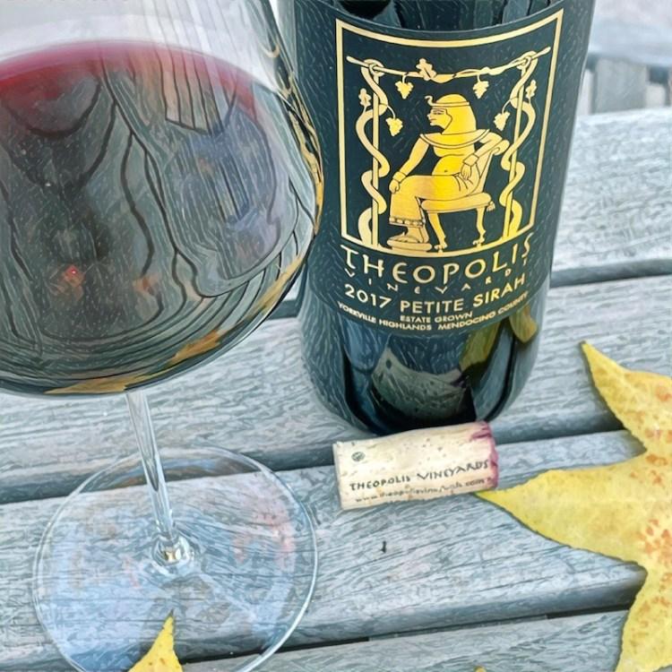 2017 Theopolis Vineyards Petite Sirah, Yorkville Highlands, Mendocino County photo