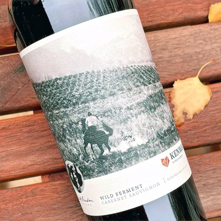 2018 Kenwood Vineyards, Jack London Vineyard, Wild Ferment, Cabernet Sauvignon, Sonoma Mountain, photo