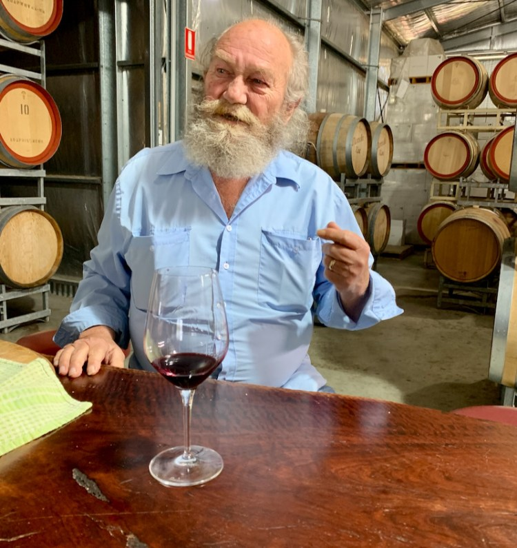 Steve Daniel, winemaker and proprietor Danshi Rise
