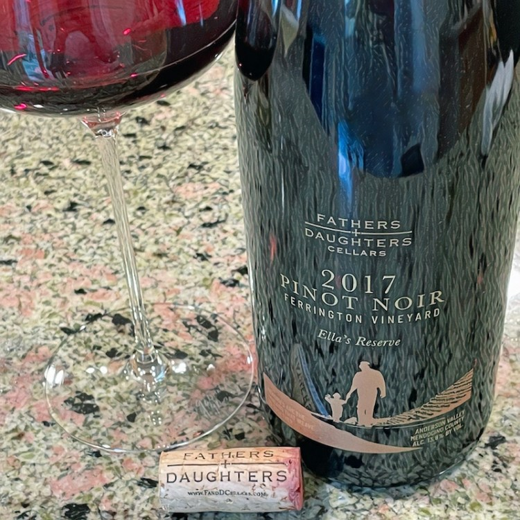 2017 Fathers + Daughters Cellars Ella's Reserve Pinot Noir, Ferrington Vineyard, Anderson Valley photo