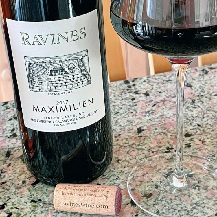 2017 Ravines Wine Cellars Maximilien Finger Lakes, NY photo