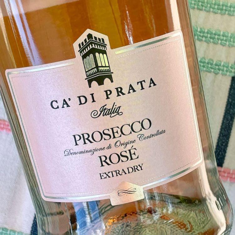 Ca' di Prata 2019 Extra Dry Rosé Prosecco DOC photo