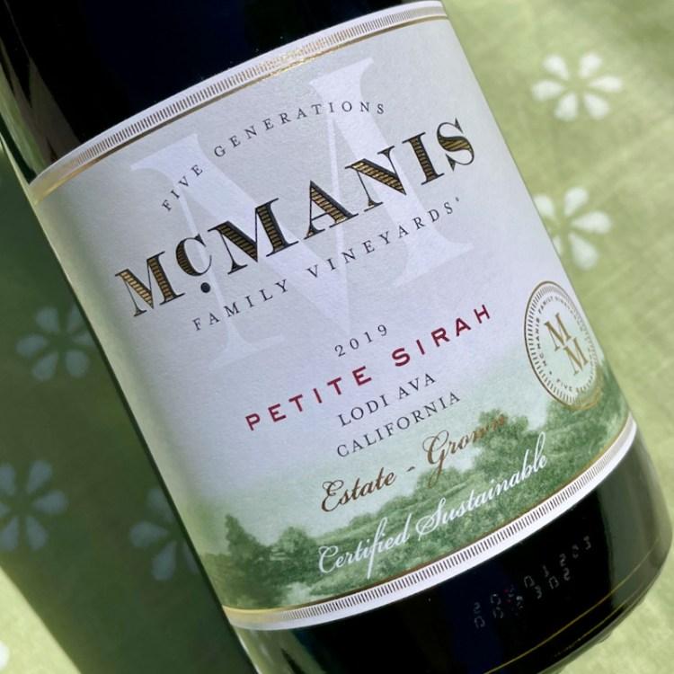2019 McManis Family Vineyards Petite Sirah, Lodi AVA photo