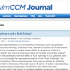 PulmCCM Journal Publishes First Issue