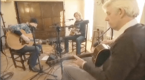 T Bone Wolk, Daryl Hall, Nick Lowe at Daryl's House