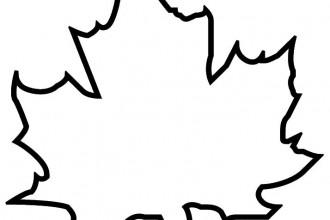 Printable Leaf Template. printable leaf patterns worksheet ...