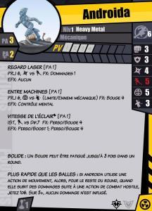 Carte de profil en français pour Pulp City