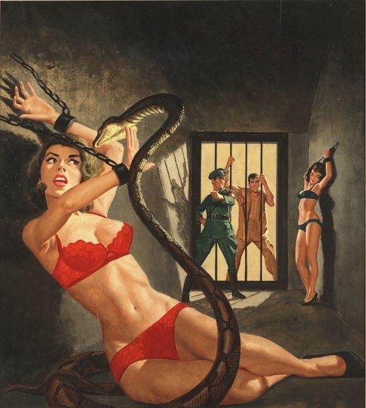 19576577-Battle Cry, June 1963, artwork by Vic Prezio