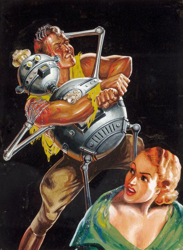22997722-Revolt_of_the_Robots,_Fantastic_Adventures_pulp_illustration