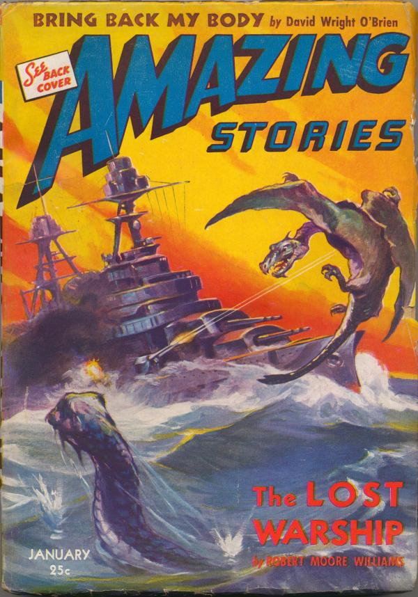 Amazing Stories, January 1943