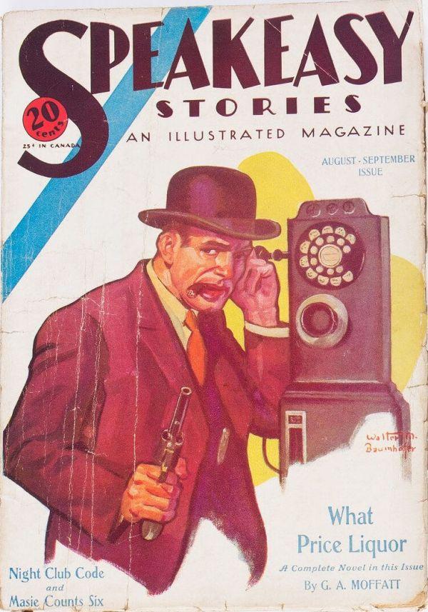 Speakeasy Stories - AugustSeptember 1933