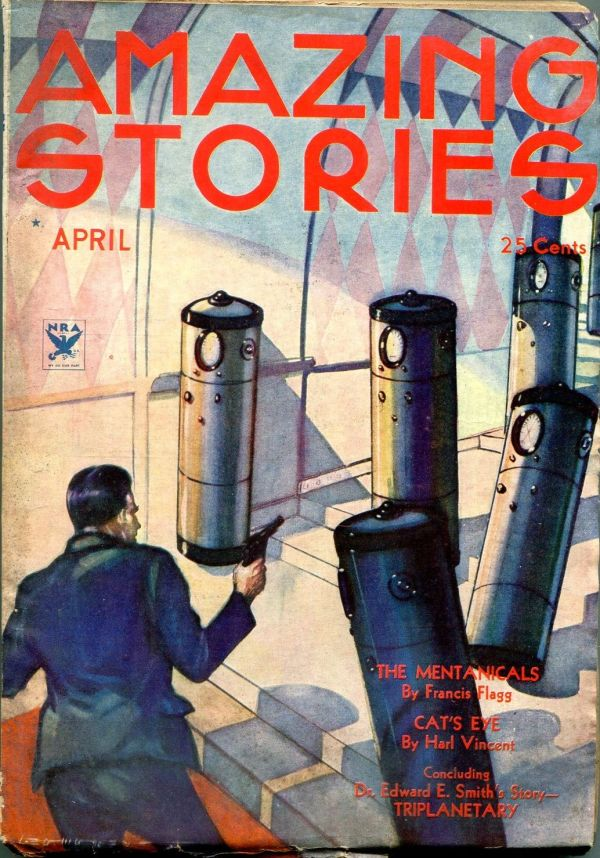 Amazing Stories April 1934