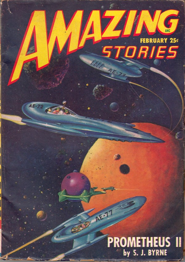 Amazing Stories, February 1948