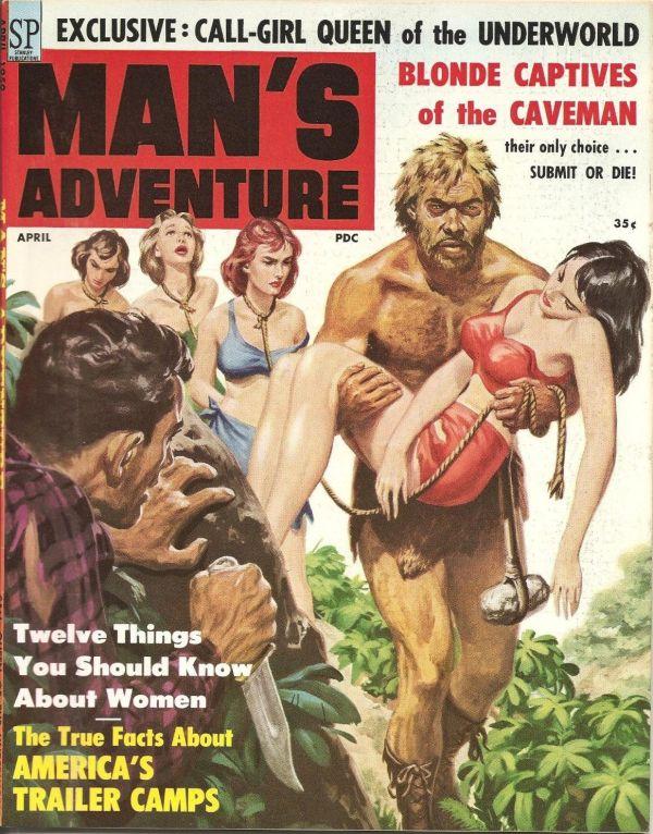 Man's Adventure April 1959