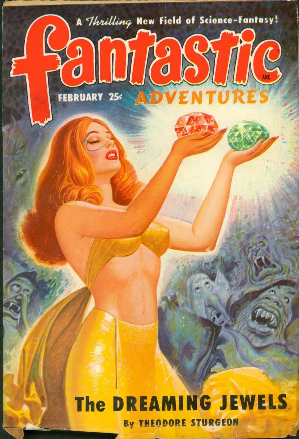 Fantastic Adventures February 1950