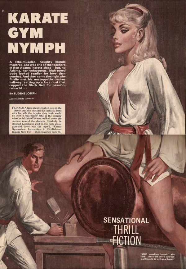Karate Gym Nymph