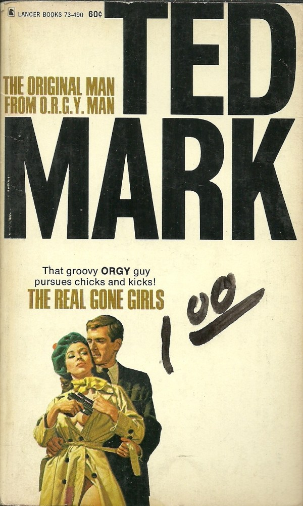 THE REAL GONE GIRLS by TED MARK 1968