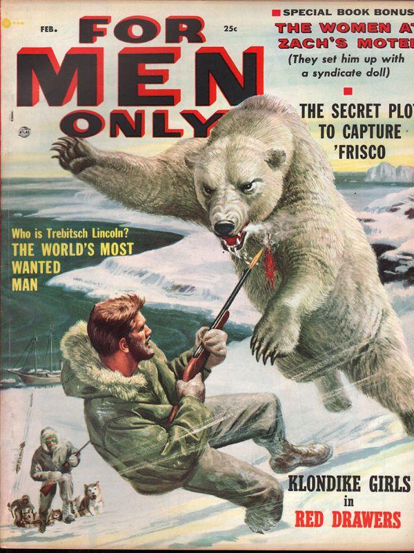 For Men Only February 1957