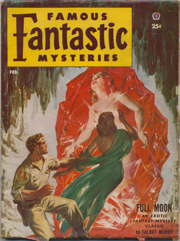 Famous Fantastic Mysteries Combined with Fantastic Novels Magazine, February 1953