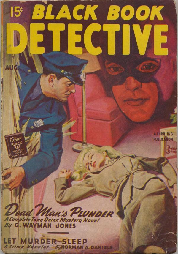 Black Book Detective Aug 1947