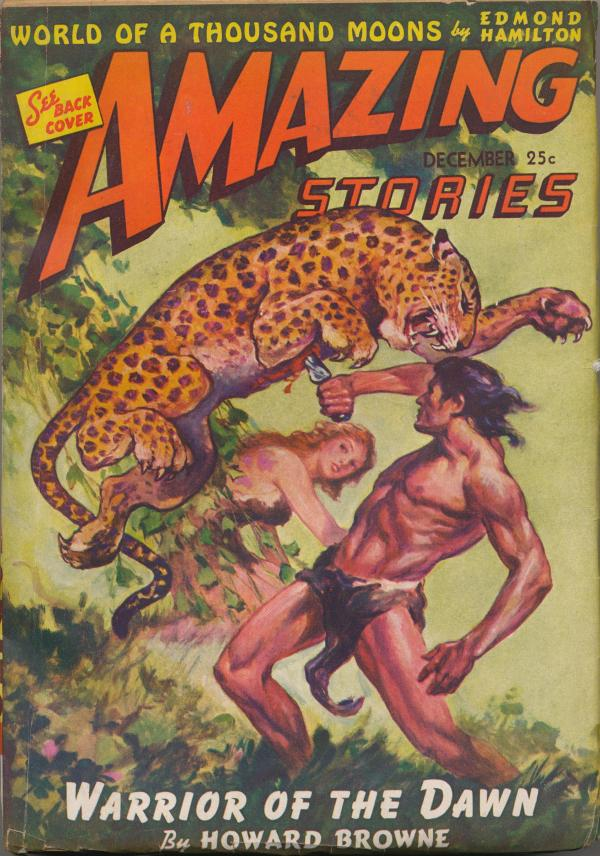Amazing Stories, December 1942