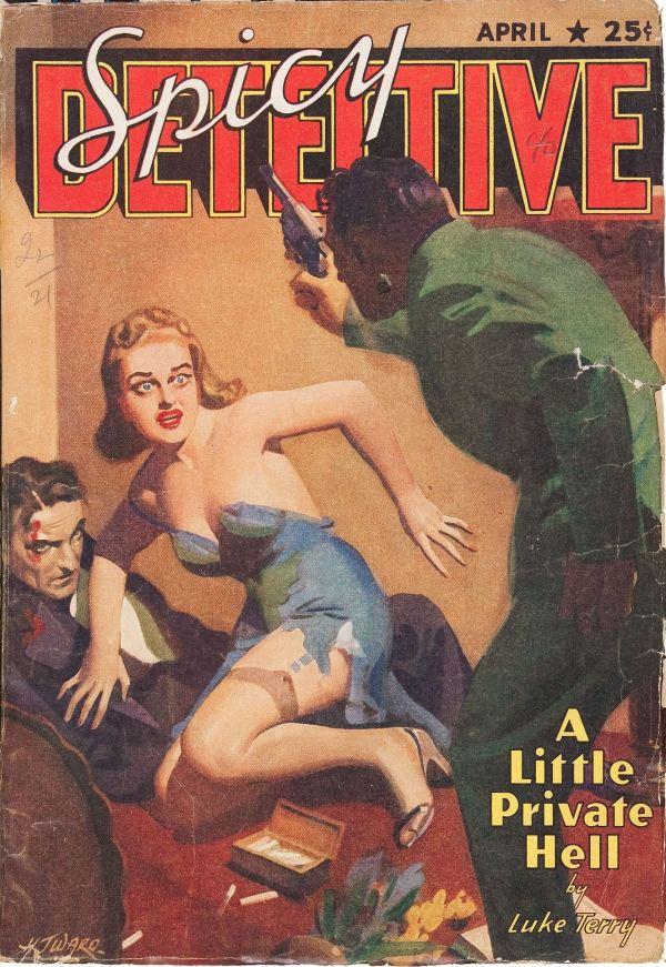 Spicy Detective Stories April 1940