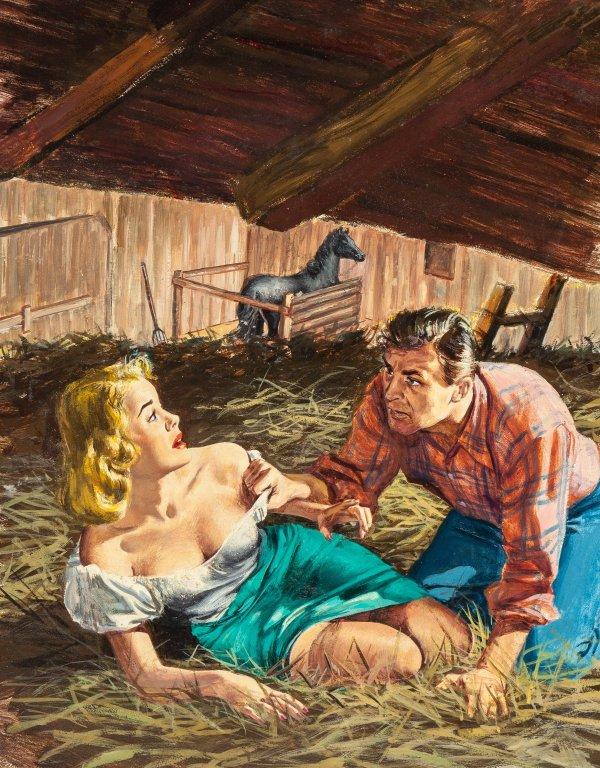 Brutal Kisses, paperback cover, 1952