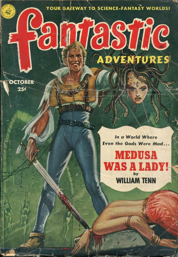 Fantastic Adventures October 1951
