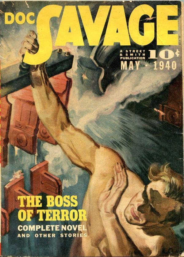 Doc Savage May 1940