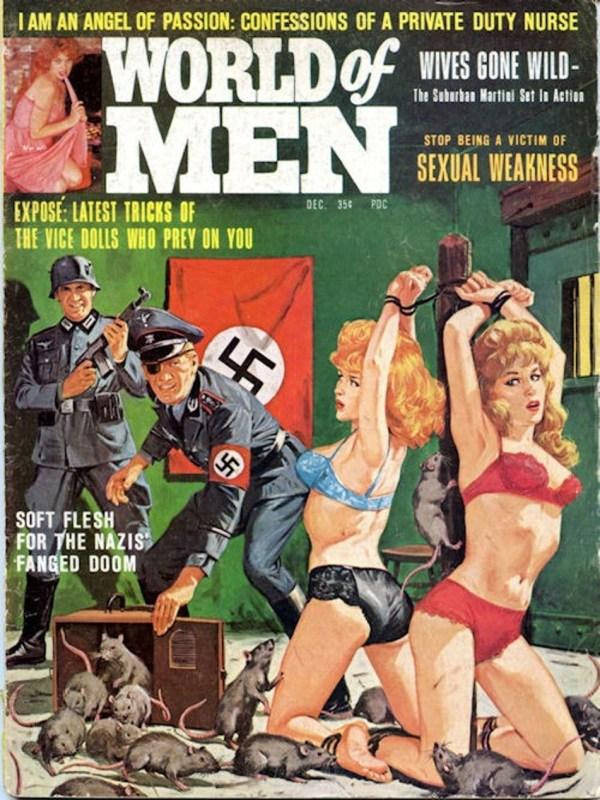 WORLD OF MEN, Dec 1964. Cover Bruce Minney-8x6