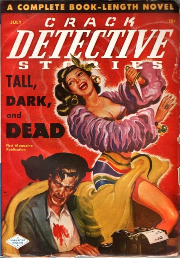 Crack Detective Stories July 1948