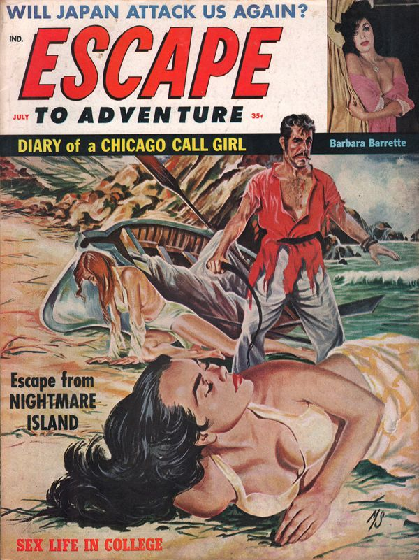 Escape to Adventure July 1961