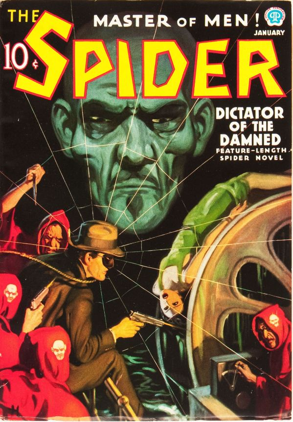 The Spider - January 1937