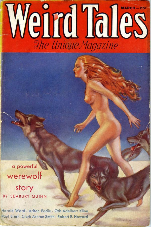 Weird Tales March 1933