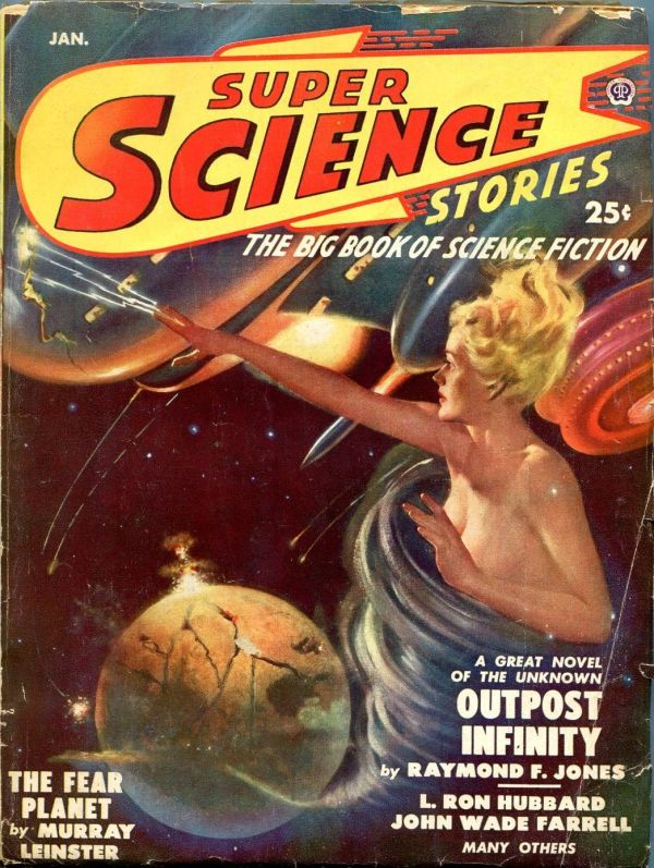 Super Science Stories January 1950