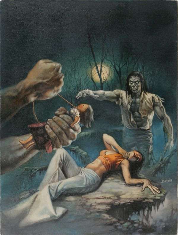 Boris Vallejo - Tales of the Zombie #3 Cover Painting