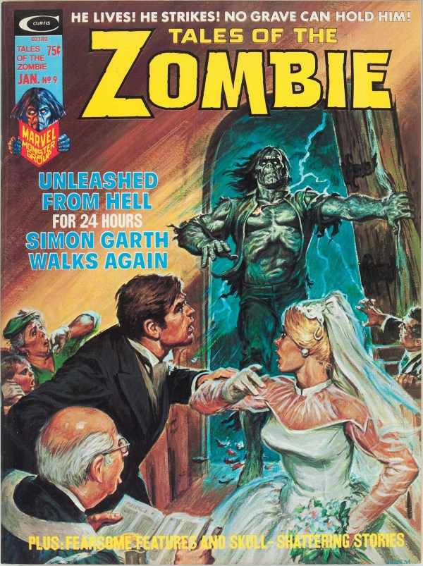 Tales of the Zombie #9 1975