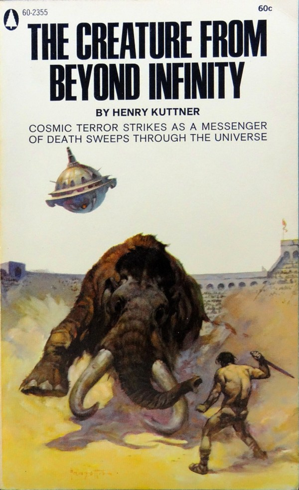Popular Library 60-2355 (1968). Cover by Frank Frazetta